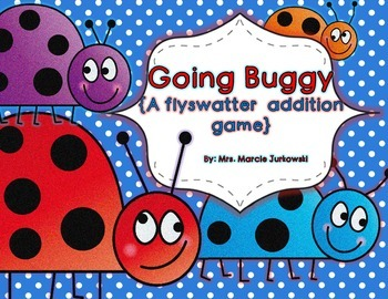 Going Buggy Basic Addition Fact Flyswatter Game Basic Fact Practice