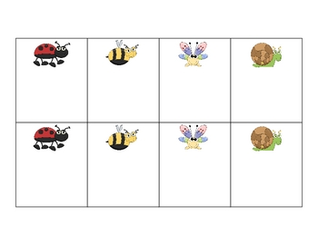 Going Buggy Game (math and literacy)