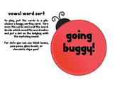 Going Buggy Long and Short Vowel Word Sorts