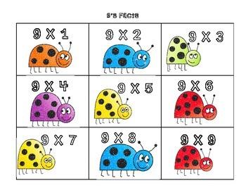 Going Buggy Basic Multiplication Fact Flyswatter Game Basic Fact Practice