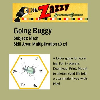 Going Buggy Multiplication x3 x4