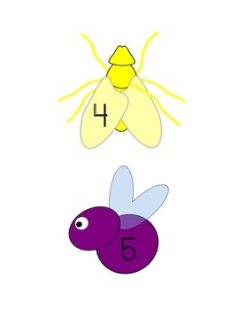 Going Buggy!  Number sets 1-12