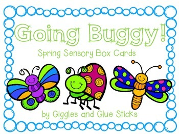 Going Buggy! Spring Sensory Box Cards for Little Learners