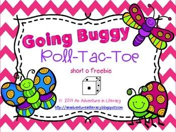 Going Buggy Spring  Tic Tac Toe Games Short O Freebie