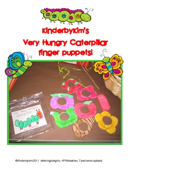 Going Buggy Syllable and Puppet Pack!