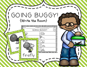 Going Buggy! {Write the Room}