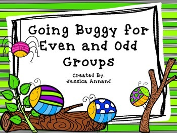 Going Buggy for Even or Odd Groups 2.OA.C.3