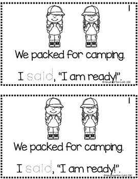 Going Camping!