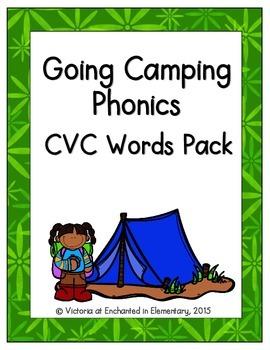 Going Camping Phonics: CVC Words Pack