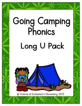 Going Camping Phonics: Long U Pack