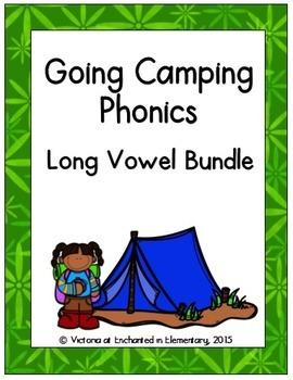 Going Camping Phonics: Long Vowel Bundle