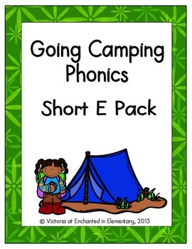 Going Camping Phonics: Short E Pack