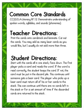 Going Camping Phonics: Short O Pack