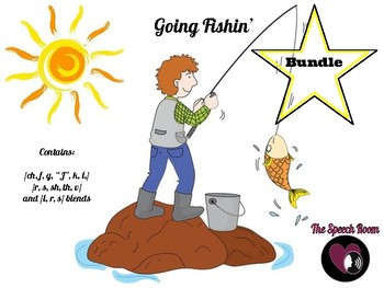 Going Fishin' - Articulation Bundle