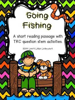 Going Fishing: A short story with TRC writing activities