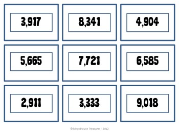 Going For The Biggest Number - Place Value