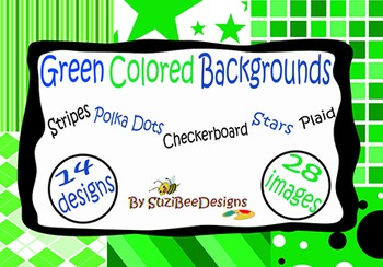 Digital Background Papers - Green
