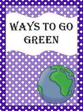 Going  Green Craft