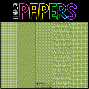 Digital Papers - Going Green! {25 backgrounds for personal & commercial use}