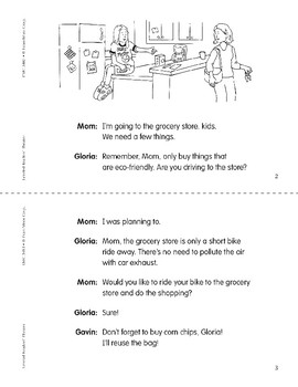 Going Green (Leveled Readers' Theater, Grade 3)