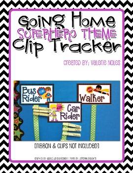 Going Home Clip Tracker: Superhero Theme