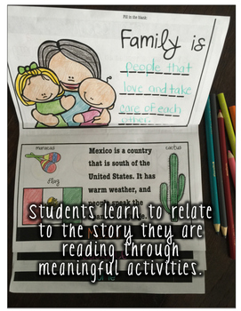 Going Home Multicultural Literature Guided Reading Flipbook