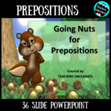 Prepositions PowerPoint Lesson