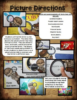 Going On A Letter Hunt: Scavenger Hunts for Any Text, Lowercase Letters