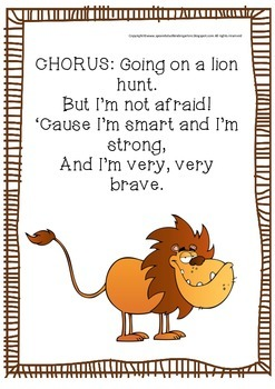 Going On A Lion Hunt Song!