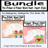 Going On A Word Hunt Bundle - Pre-primer and Primer Words