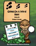 Sight Words Primer: Word Hunt