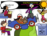 Going Places Clip Art Pack