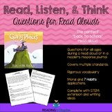 Going Places Higher Order Thinking Questions