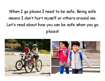 Going Places Safely Book