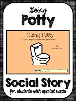 Going Potty- Social Story for Students with Special Needs
