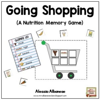 Going Shopping! {A Nutrition Game}