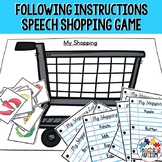 Following Directions Activity | Life Skills Shopping List