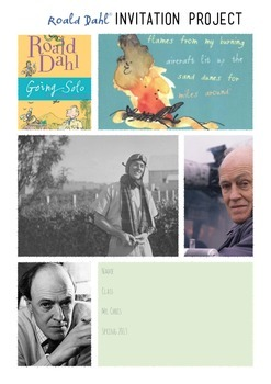 Going Solo Invitation Project Roald Dahl