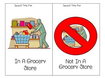 Going To A Grocery Store Language and Pragmatic Skills