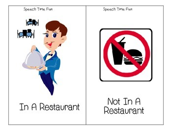 Going To A Restaurant Language and Pragmatic