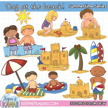 Going To The Beach Fun Summer Clip Art