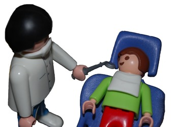 Going To The Dentist - Playset Visuals [speech therapy and autism]
