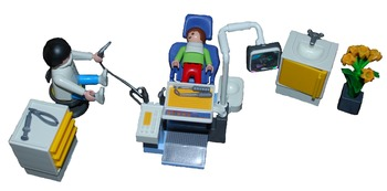 Going To The Dentist - Playset Visuals [speech therapy and
