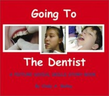 Going To The Dentist - Story Visuals [speech therapy and autism]