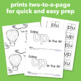 """Interactive Sight Word Reader """"Going Up in the Air"""""""