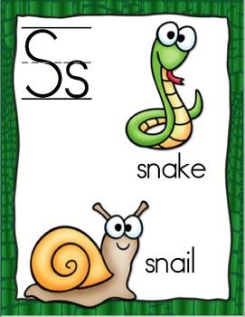 Going Wild! - Animal Print Alphabet Cards