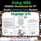 Going Wild Over Fourth Grade Language Arts Common Core