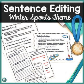 Winter Sports - Going for Gold - Sentence Editing
