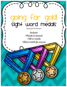 Going for Gold: Sight Words