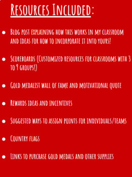 Going for the Gold:  Classroom Management and Rewards System